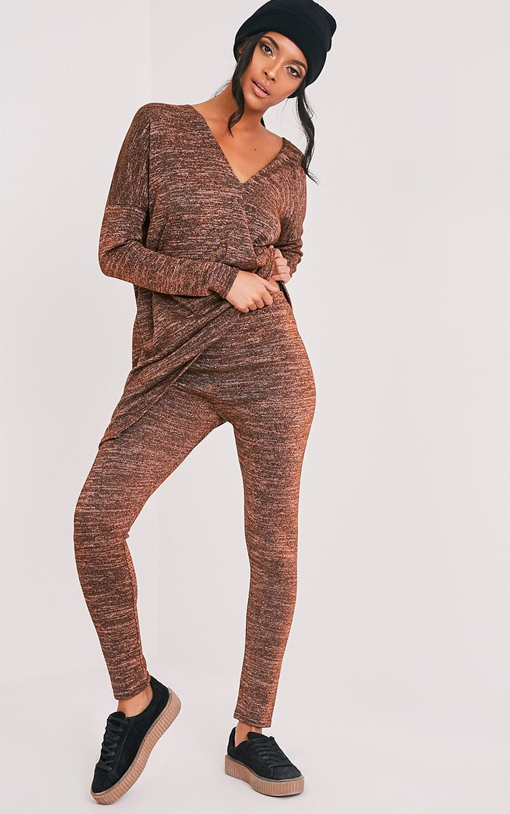 Sophie Bronze Metallic Leggings