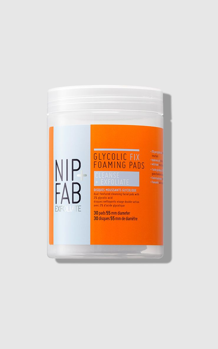 Nip Fab Glycolic Fix Foaming Pads