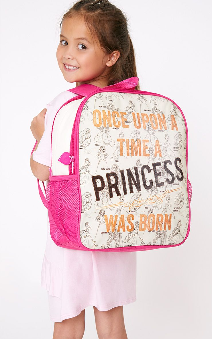 Disney Princess Cream Double Backpack