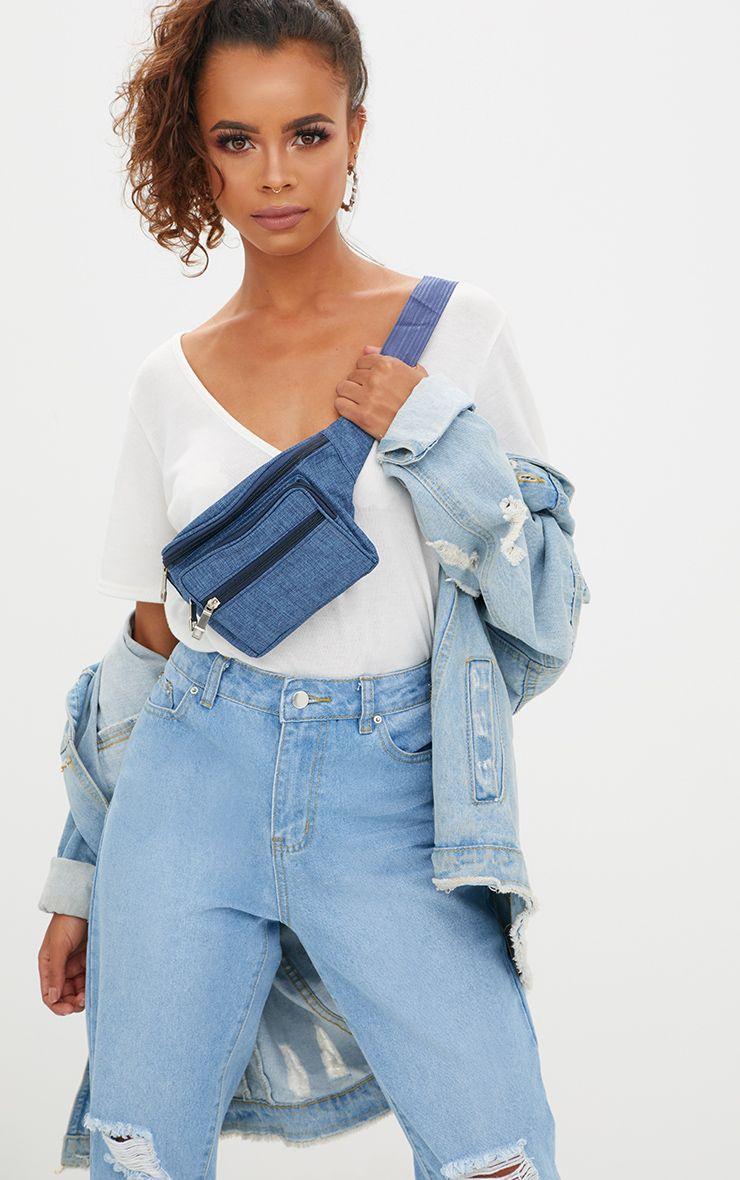 Denim Small Bum Bag