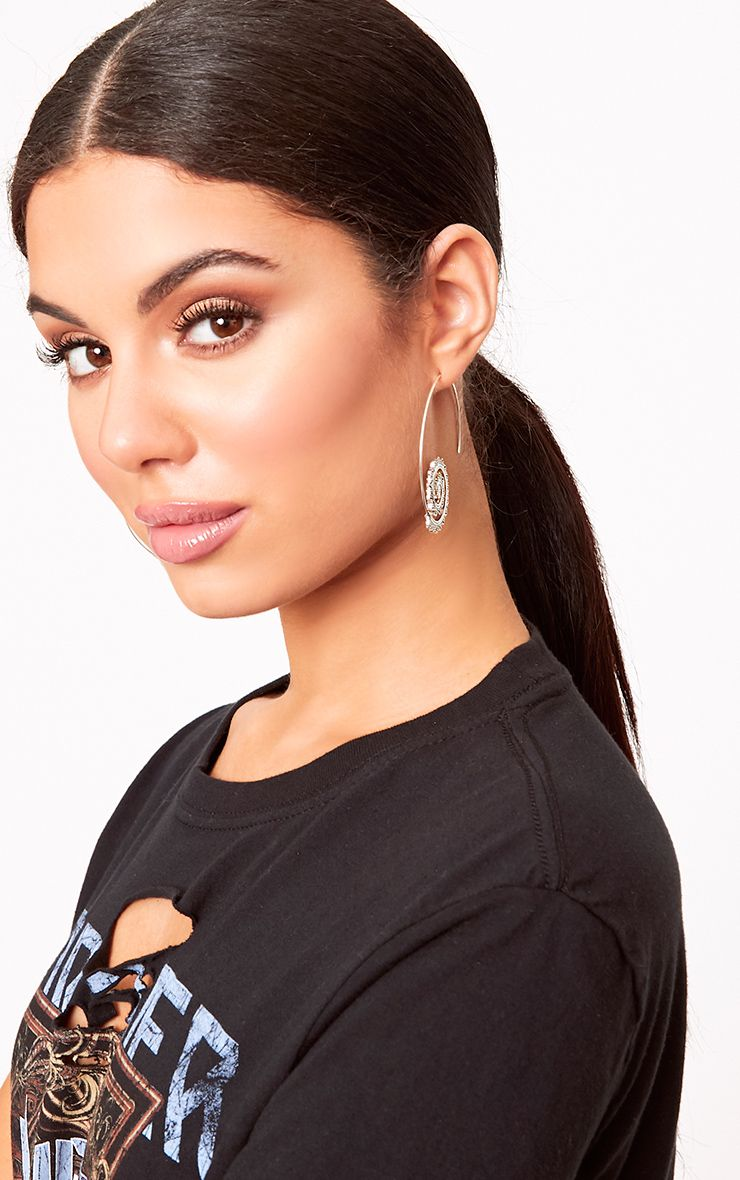 Adya Spiral Thread Through Earrings