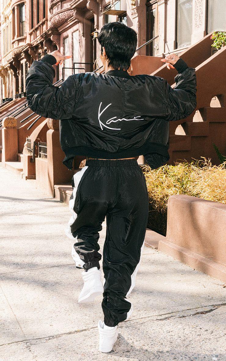 KARL KANI Black Puffer Jacket