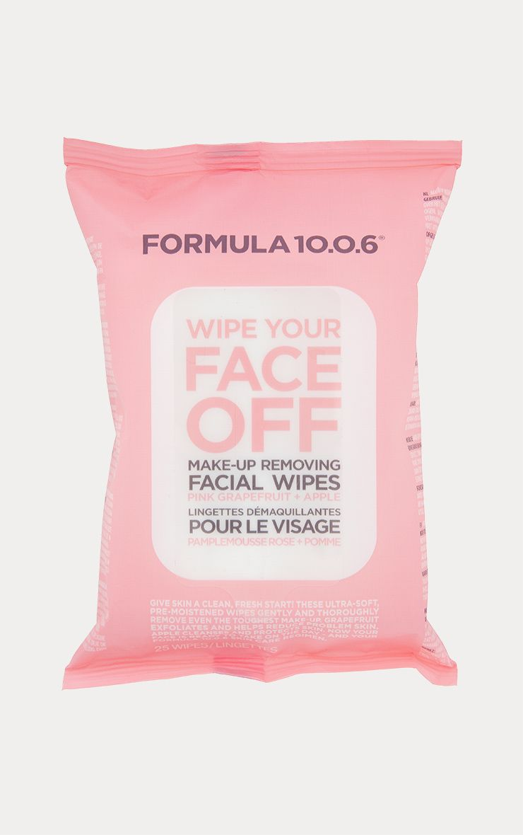 Formula 10.0.6 Wipe Your Face Off Makeup Wipes
