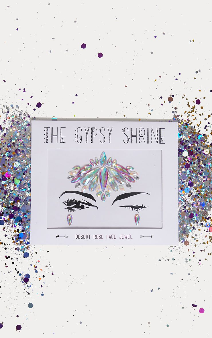 Bijou de visage Gypsy Shrine - Desert Rose