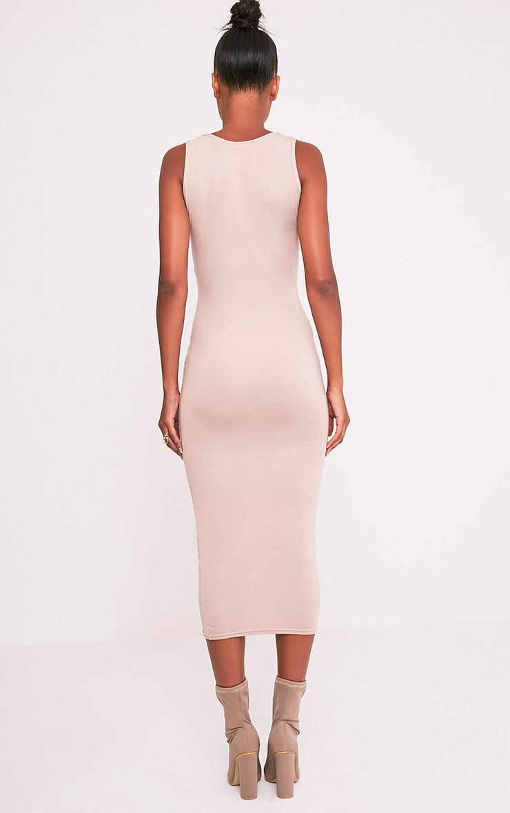 Mirah Stone Scoop Neck Midaxi Dress 2