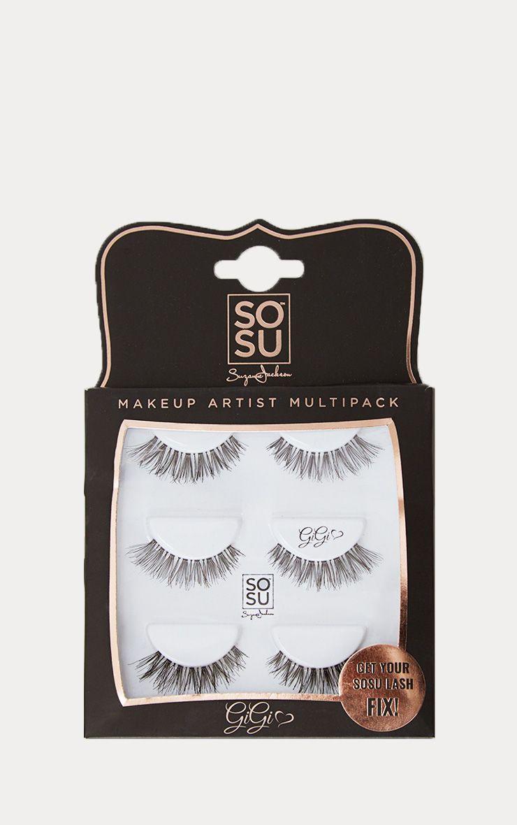 SOSU Gigi Multipack False Eyelashes