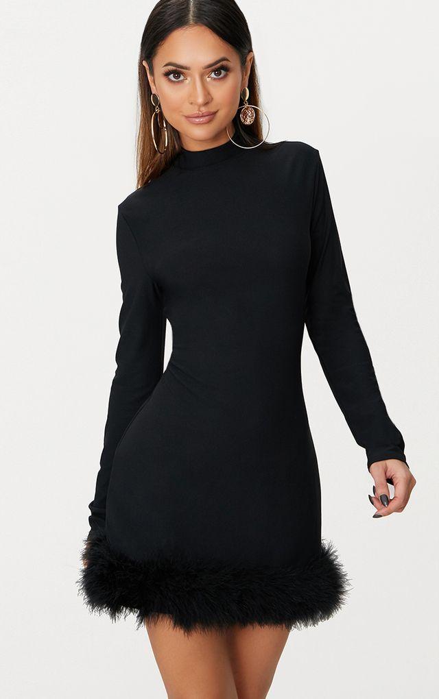 Cocktail Dresses | Black, Red & White | PrettyLittleThing