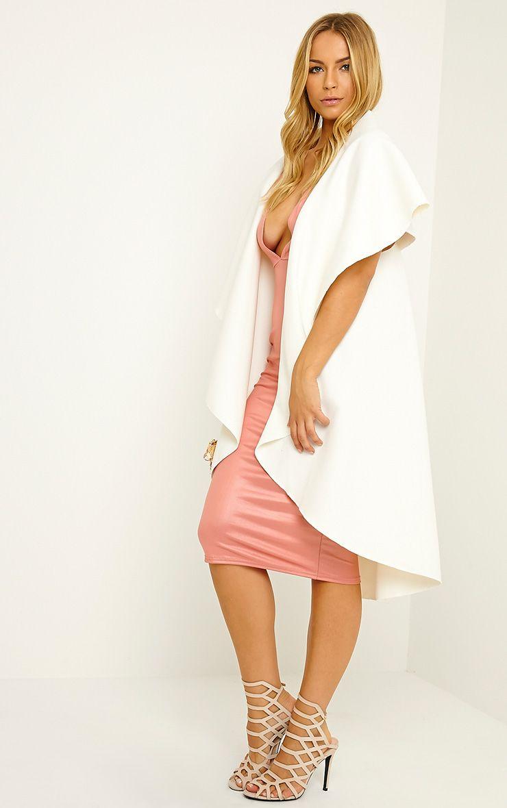 Vivian Cream Waterfall Waistcoat 3