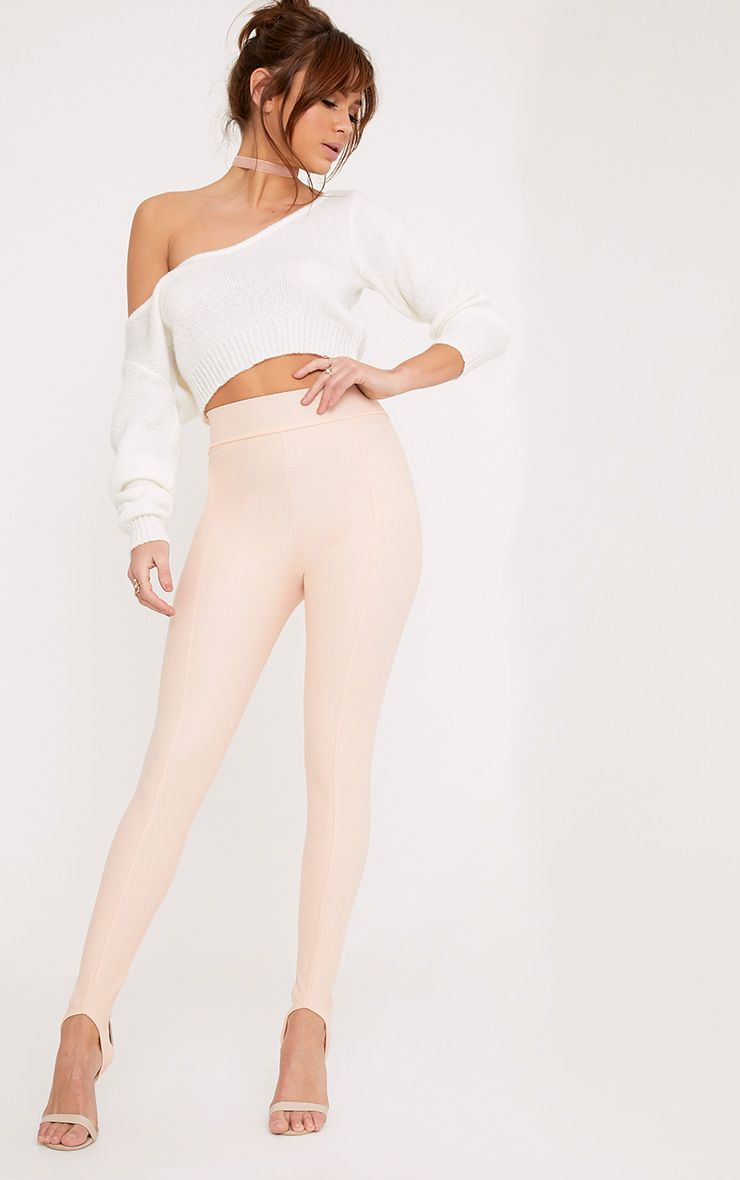 Tauria Blush Stirrup Trousers