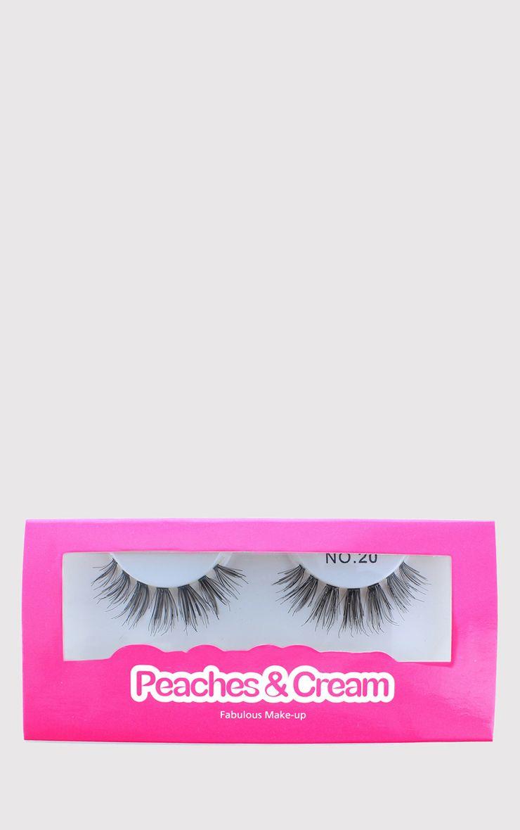 Peaches & Cream NO 20 False Eyelashes 1