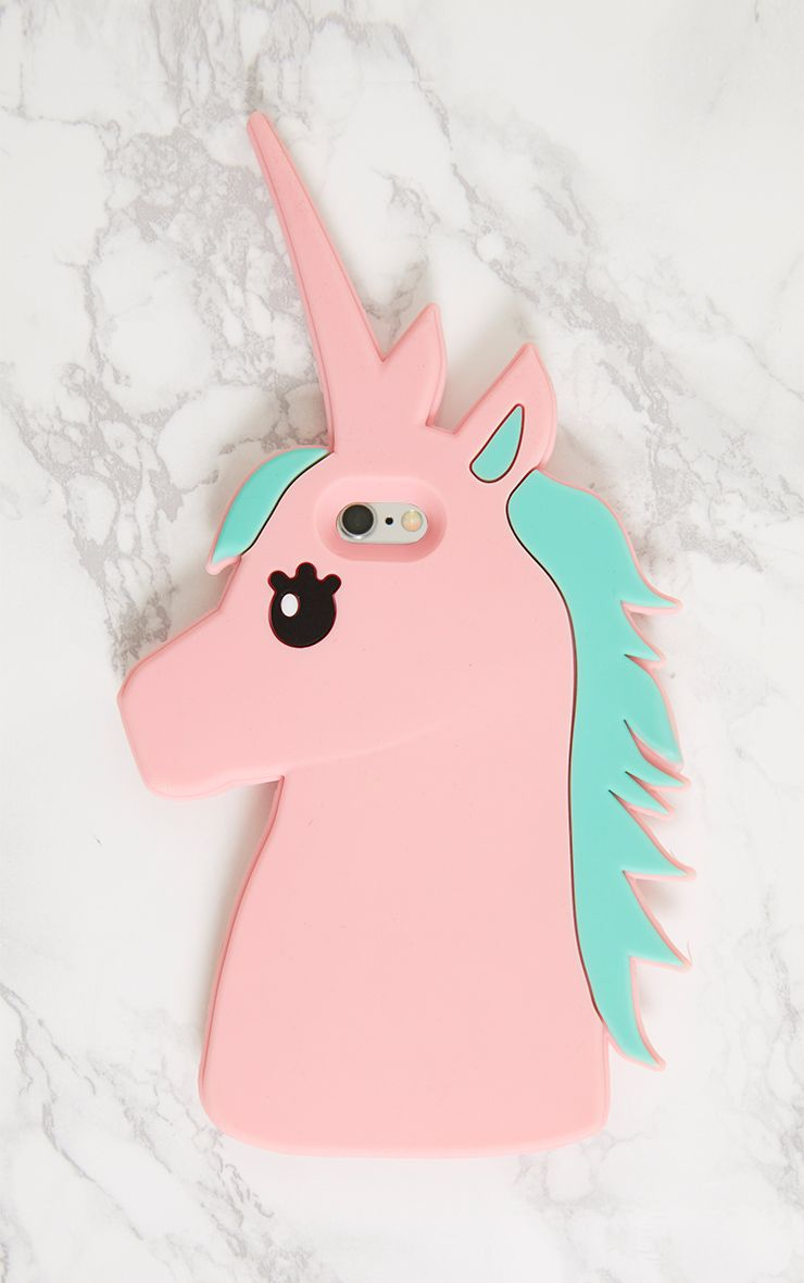 Pink Unicorn Iphone 6 Case