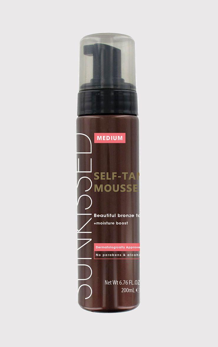 Sunkissed Medium Self-Tan Mousse