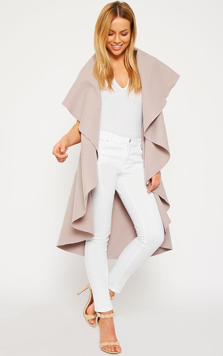 Vivian Dusty Pink Waterfall Waistcoat 3