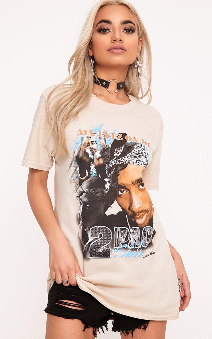 Iconic Tupac Stone T Shirt