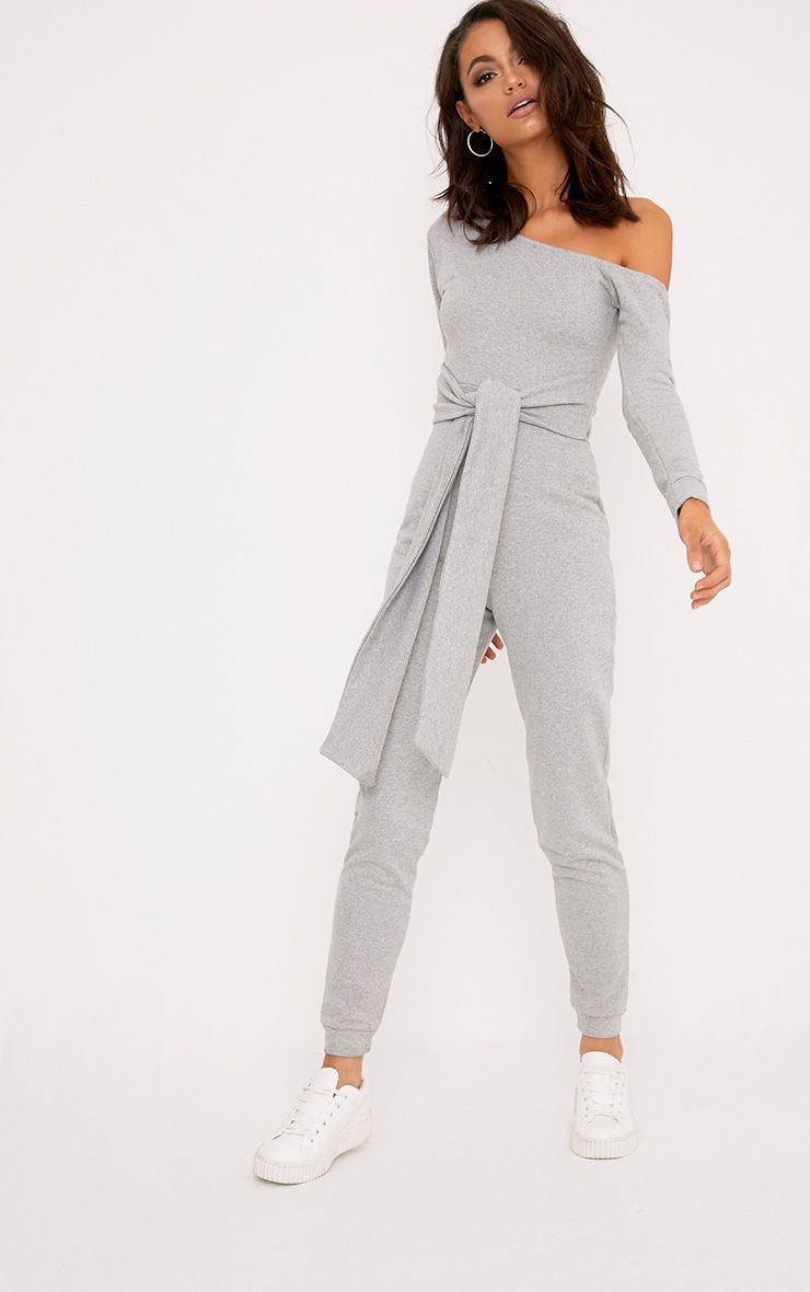 Lacie Grey Sweat Jumpsuit