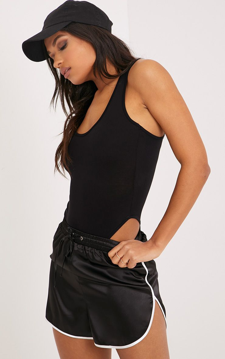 Basic Black Racer Back Bodysuit