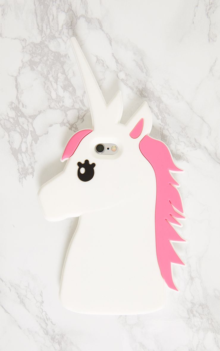 White Unicorn Iphone 6 Case 1