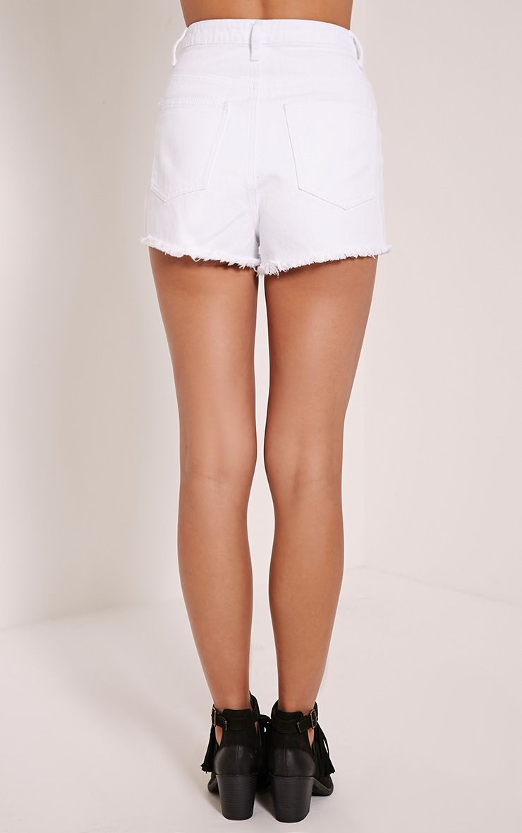 Shelby White The Blog Of: Shelby White High Wasited Denim Short