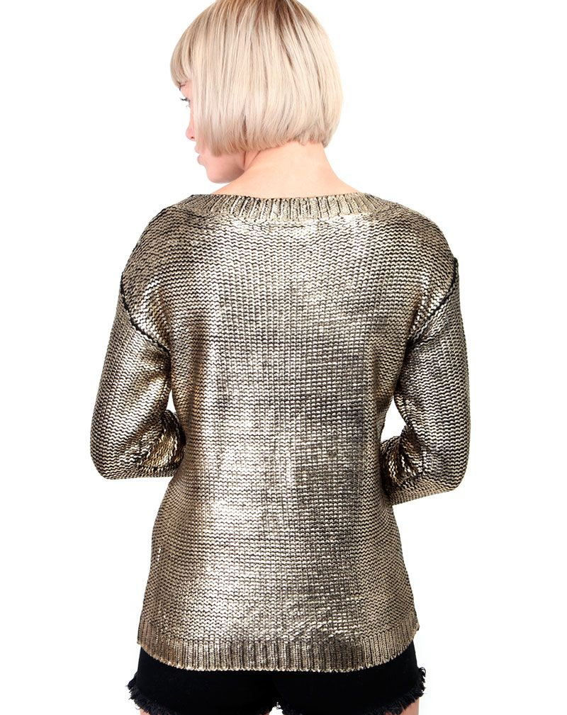 Lavi Gold Shine Jumper 2