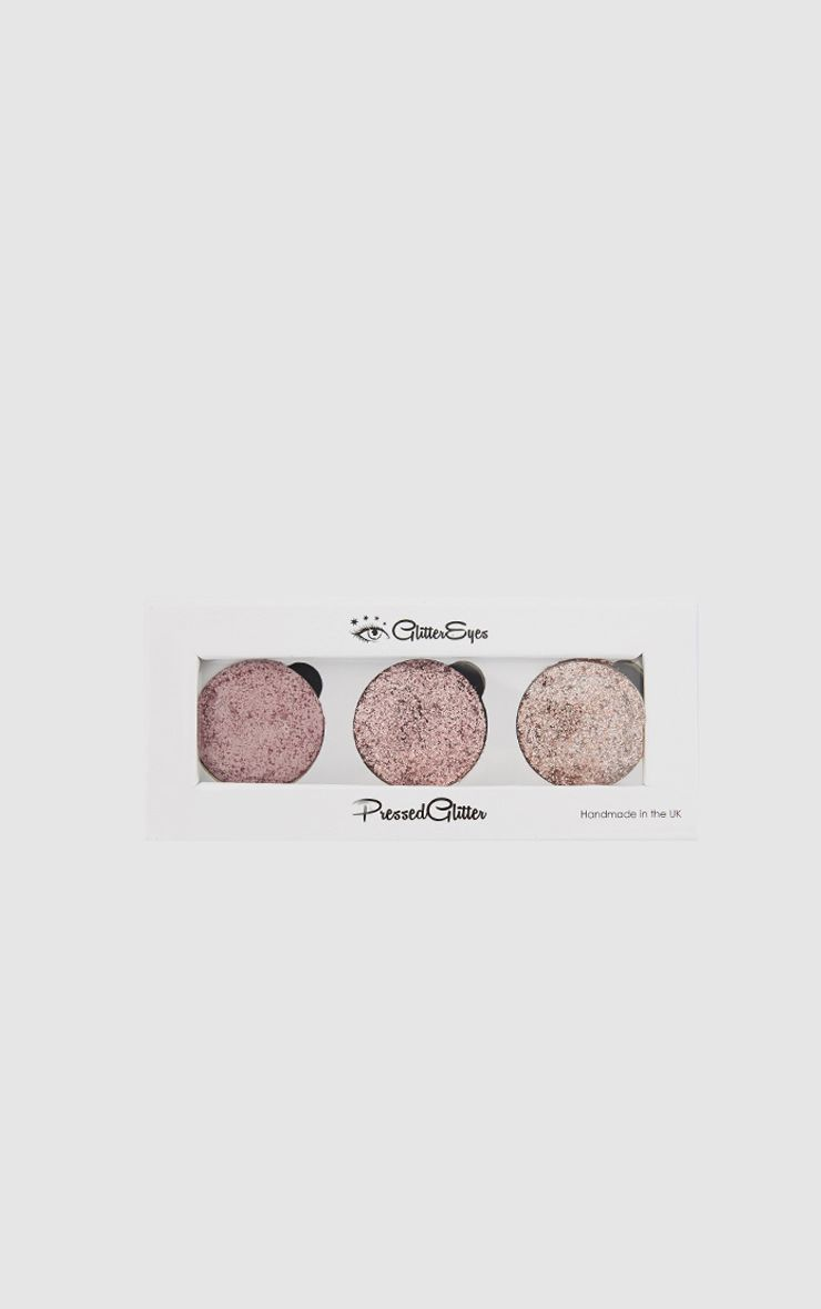 GlitterEyes Rose Gold Trio Palette