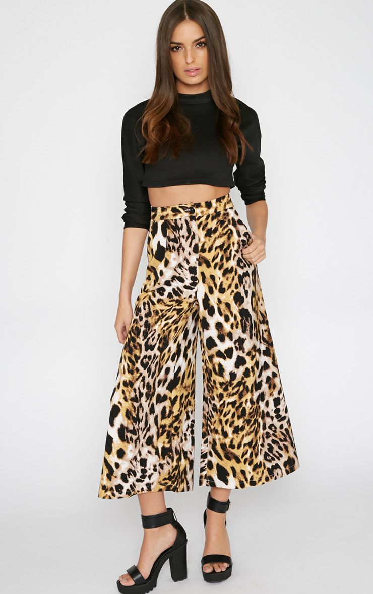 Jaidyn Leopard Culotte  1