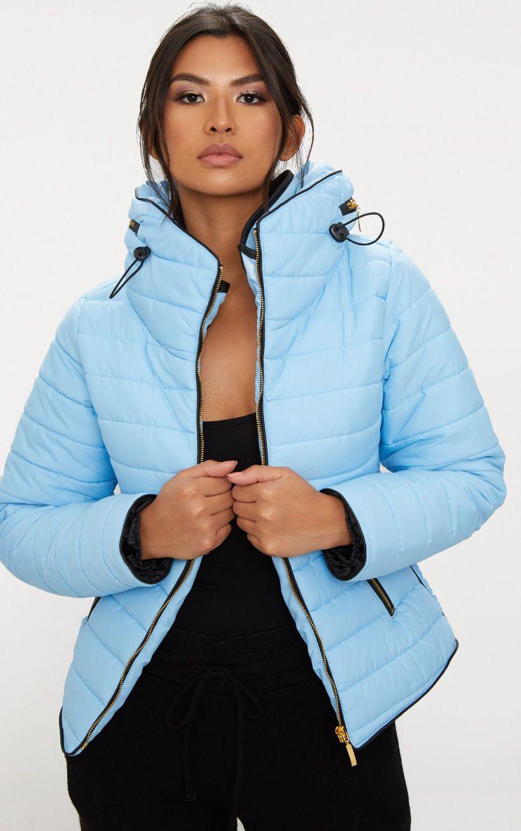 Baby Blue Mara Puffer Jacket
