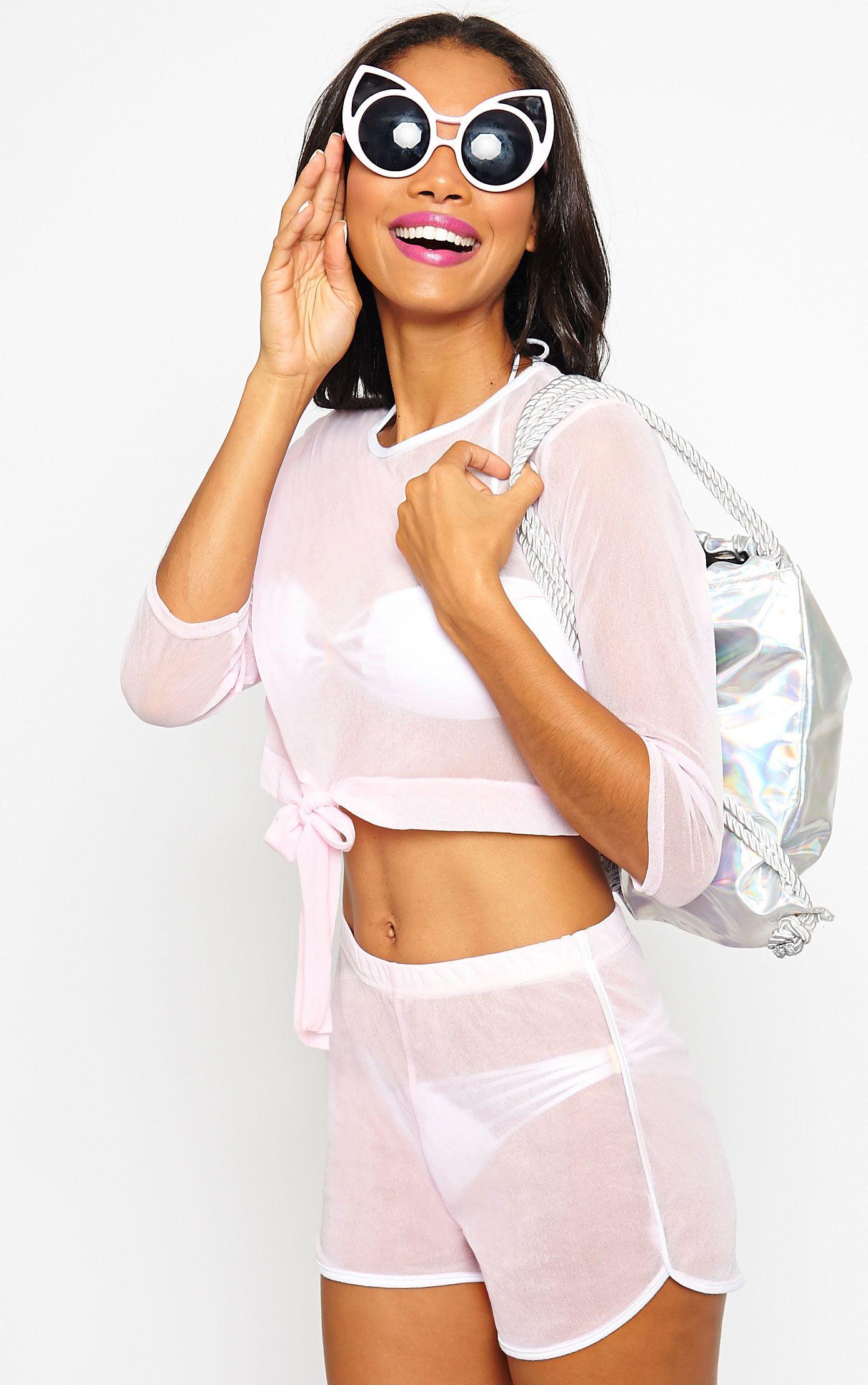 Nadia Pink Shorts 1