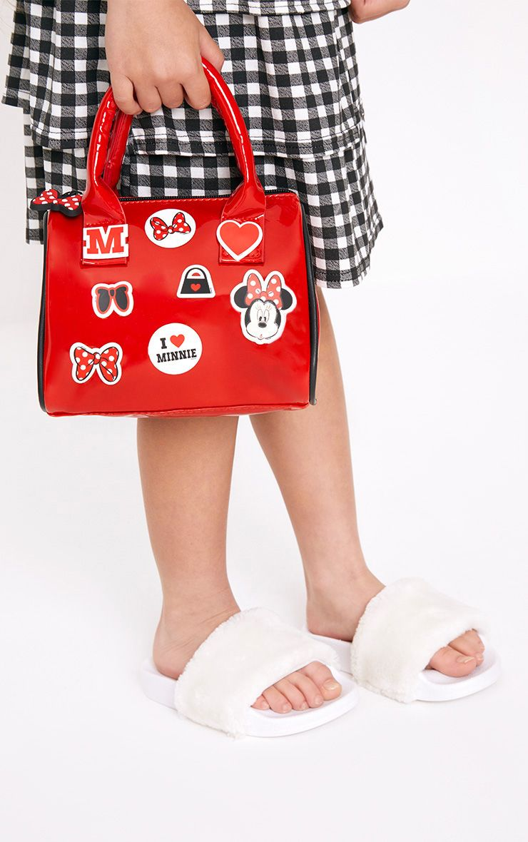Disney Minnie Mouse Red Sticker Bag