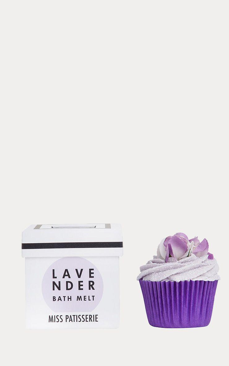 Miss Patisserie Lavender Cupcake Bath Melt