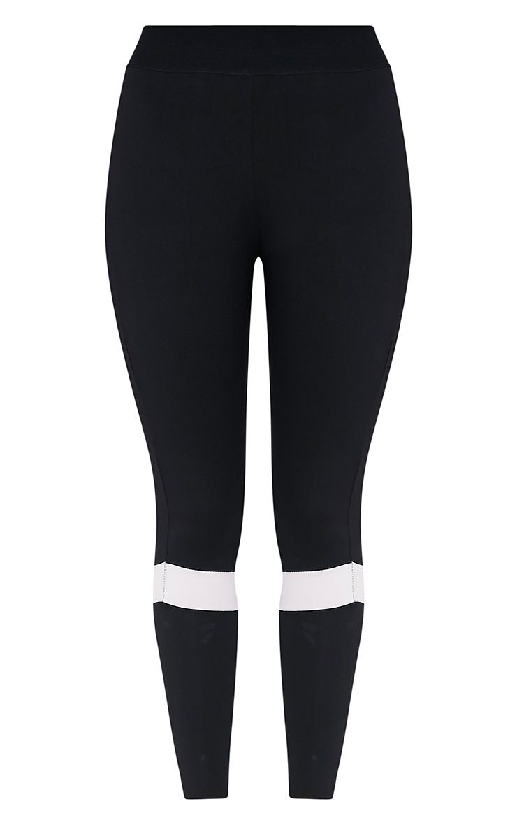 Grace legging de sport à empiècements noir 3