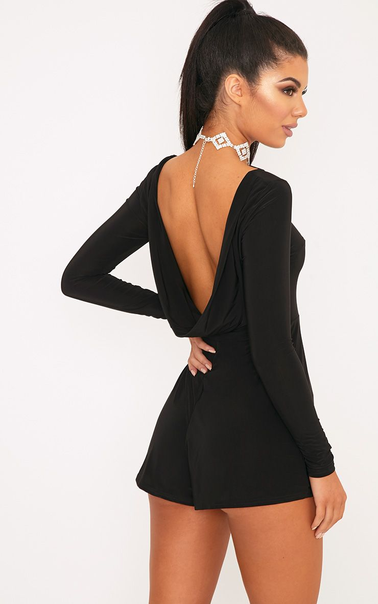 Kym Cowl Back Playsuit