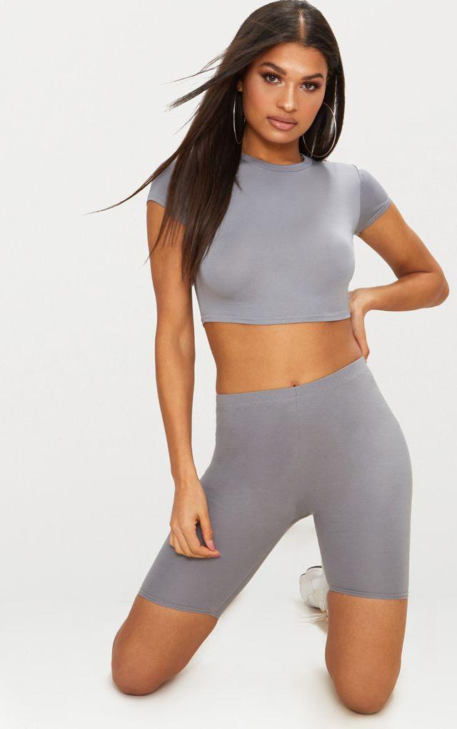 Basic Black & White 2 Pack Roll Sleeve Crop T Shirt Pretty Little Thing Best Authentic Footlocker Sale Online lwg3LJEFWv