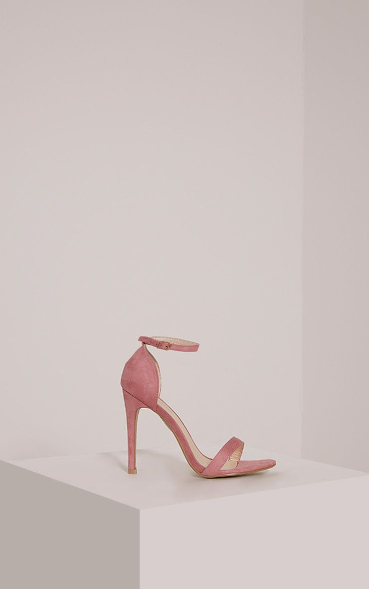 Clover Rose Strap Heeled Sandals