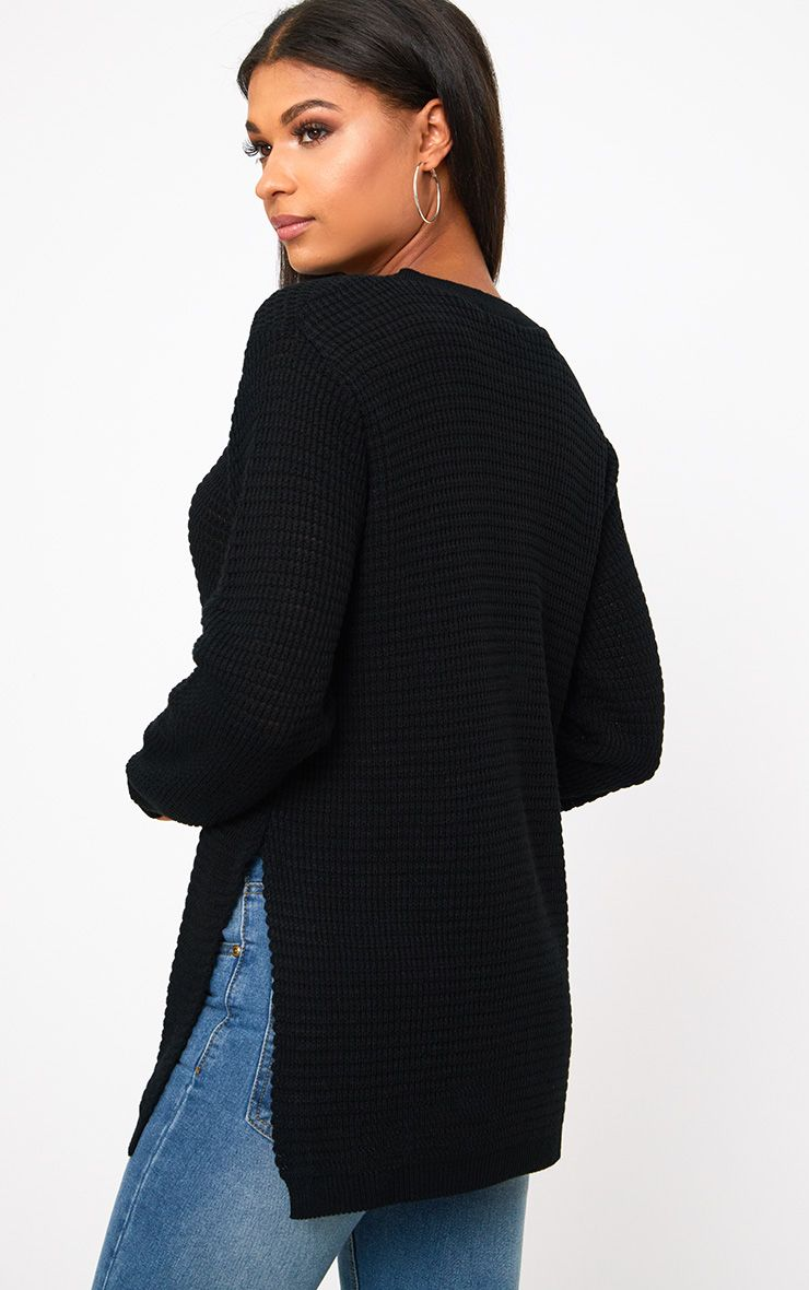 Black Pearl Knit Jumper