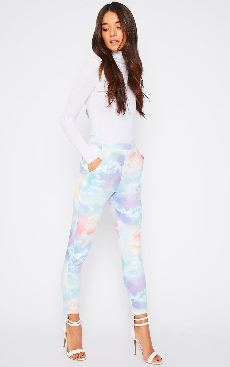 Xantara Cloud Print Peg Trouser 1