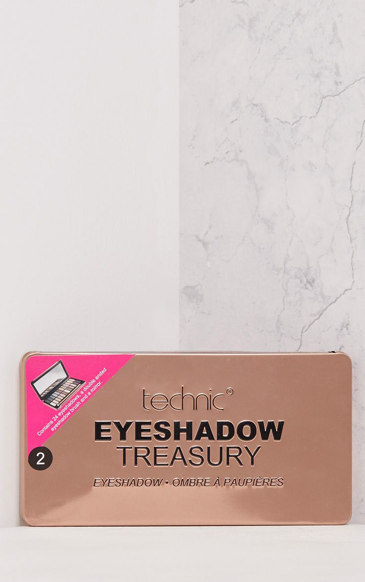 Technic Rose Gold Eyeshadow Treasury