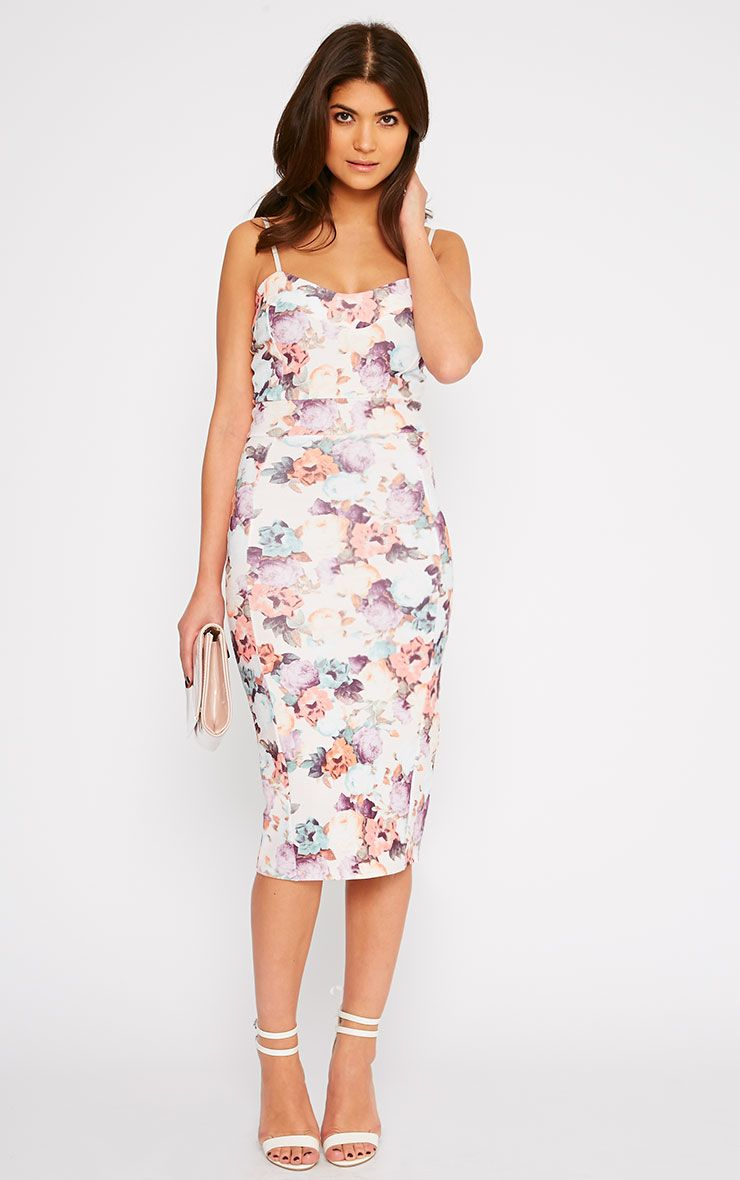 Olivia Floral Midi Dress 1