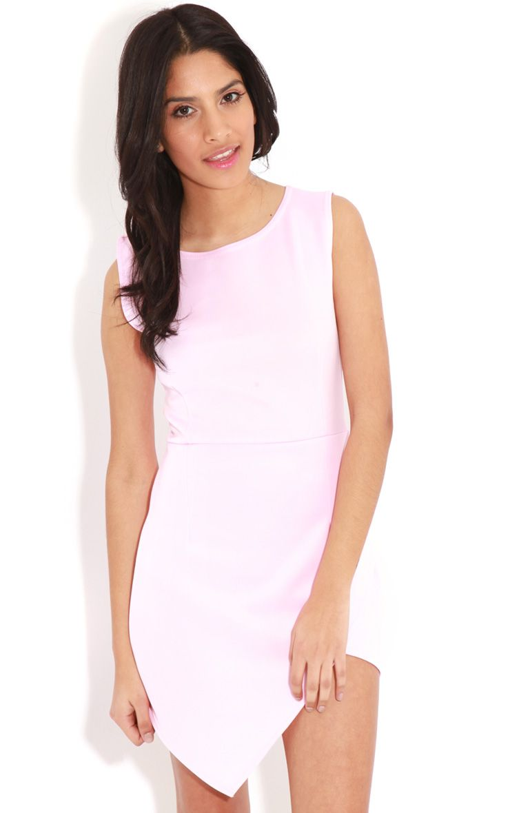 Celine Pink Wrap Over Dress 1
