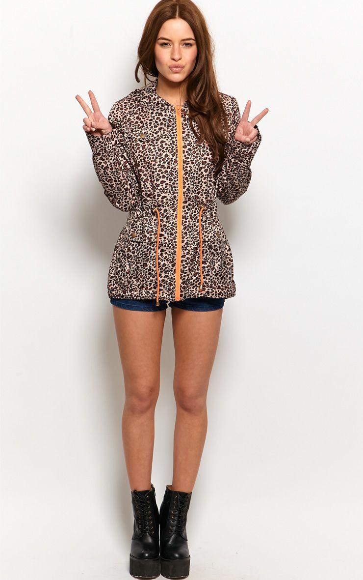 Finola Leopard Print Raincoat 1