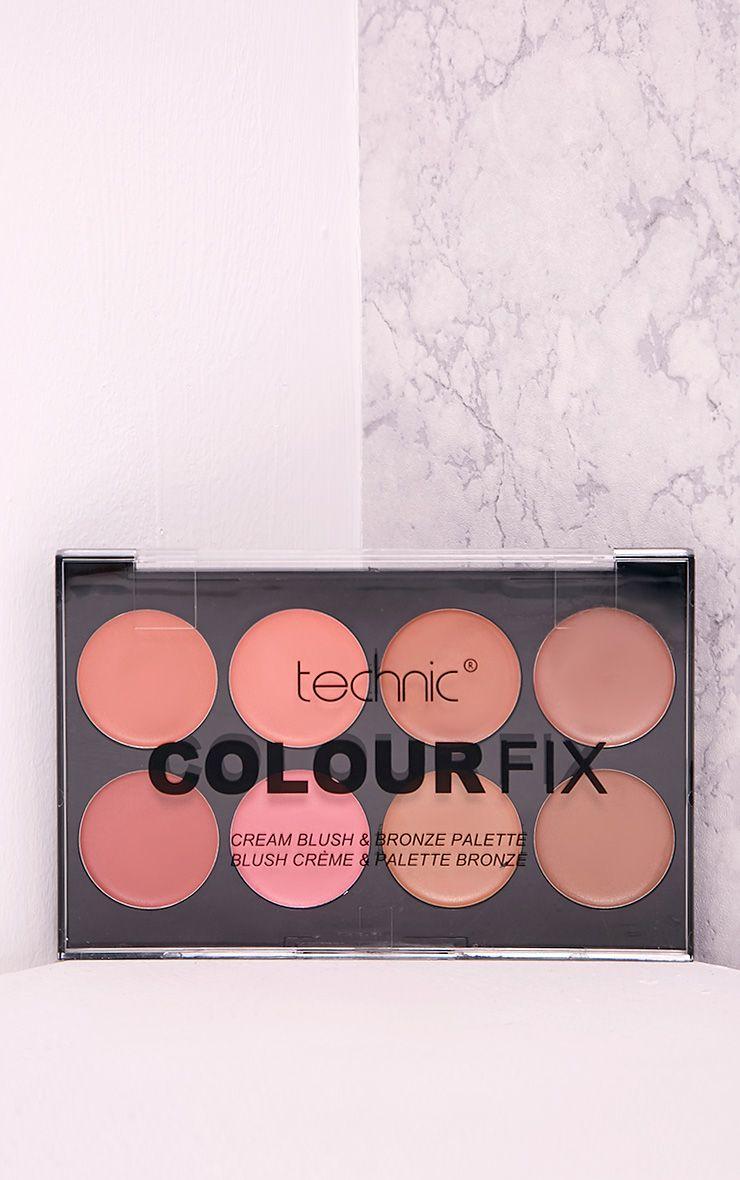 Technic Colour Fix Cream Blush Bronze Palette