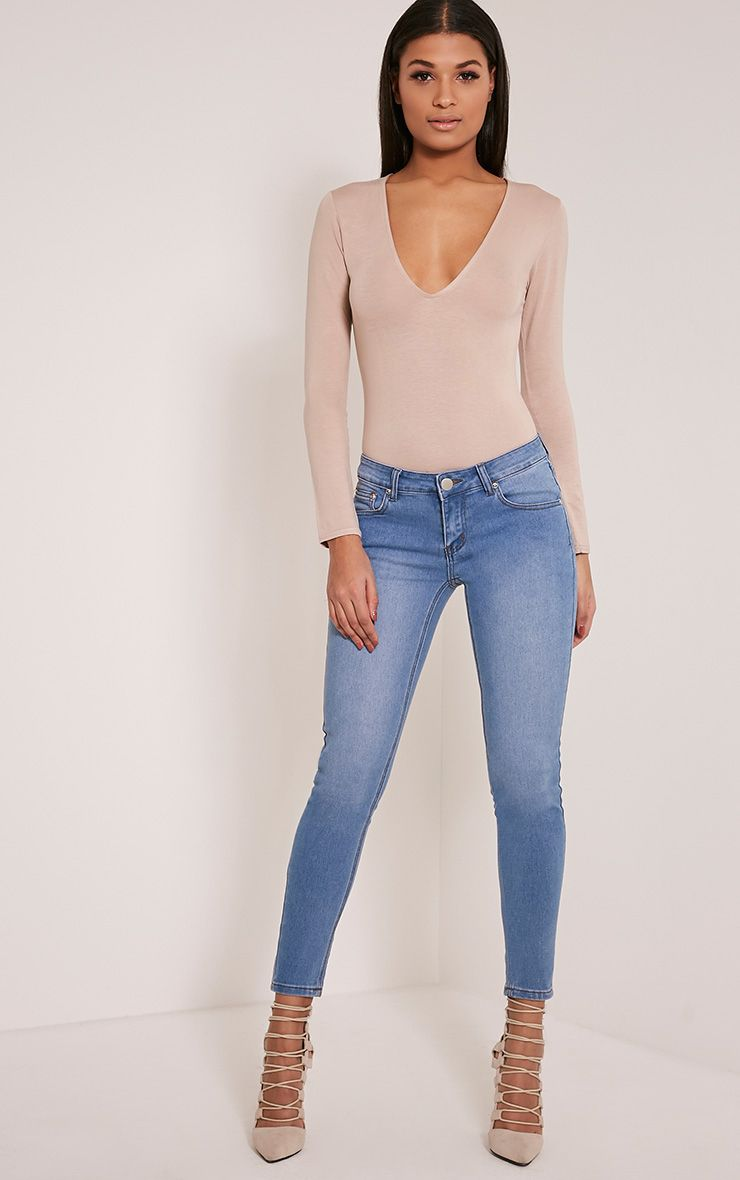 Kim Light Wash Slim Leg Jeans