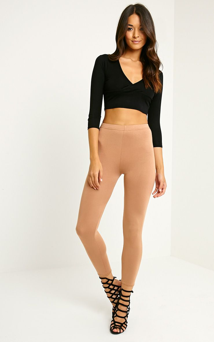 Basic Camel Leggings 1