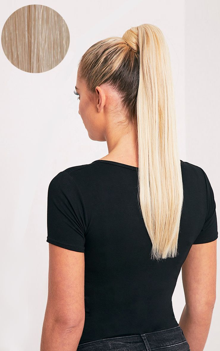 Beauty Works Champagne Blonde Sleek Ponytail