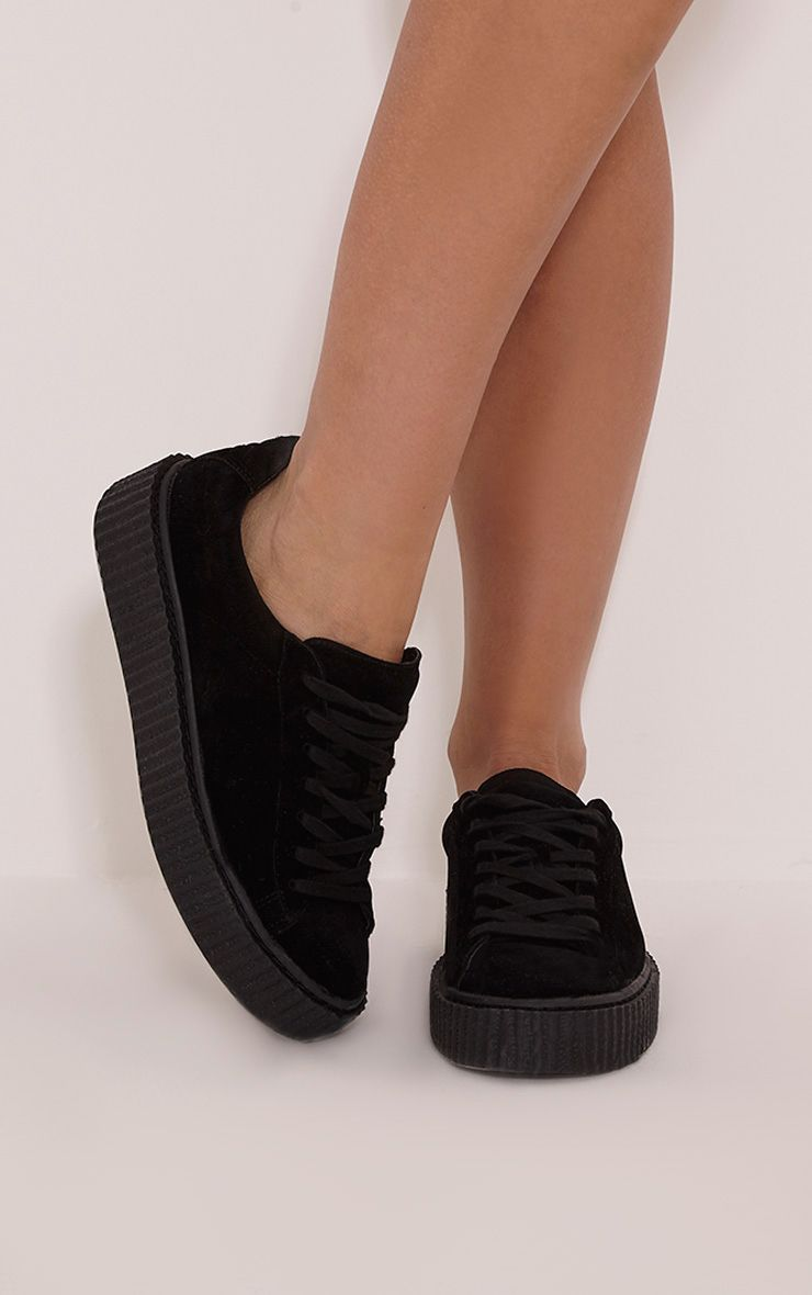 Cia Black Creeper Trainers 1