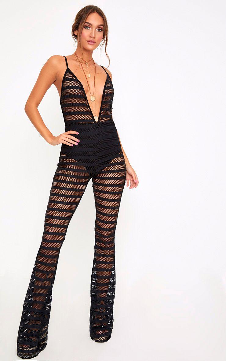Unique Boohoo Womens Anna Tie Waist Jumpsuit  EBay