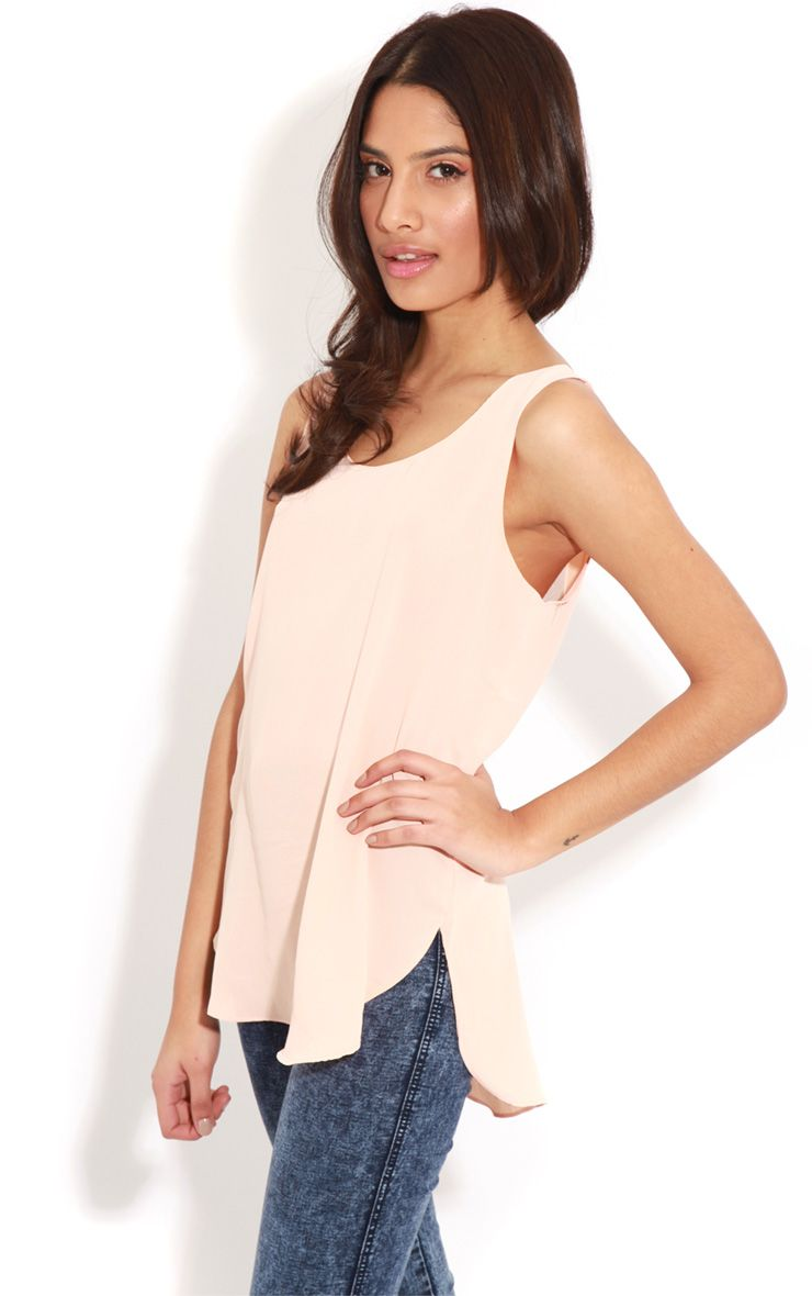 Candice Peach Loose Fit Top 1