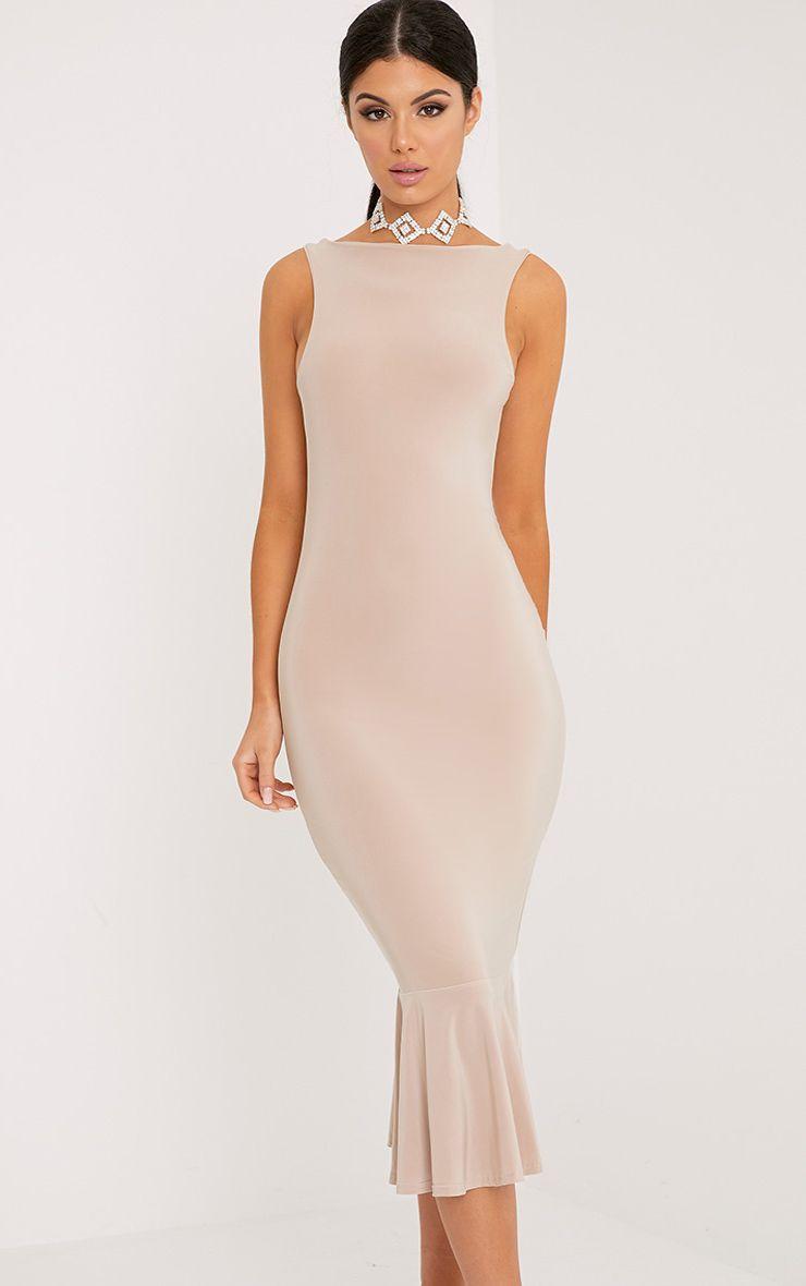 Tasha Stone Drop Hem Midaxi Dress 1