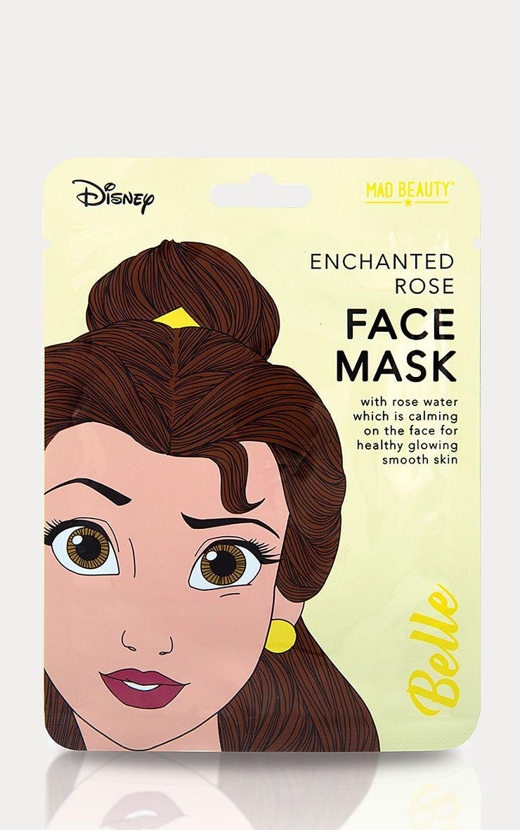 Disney Princesses Belle Enchanted Rose Face Mask