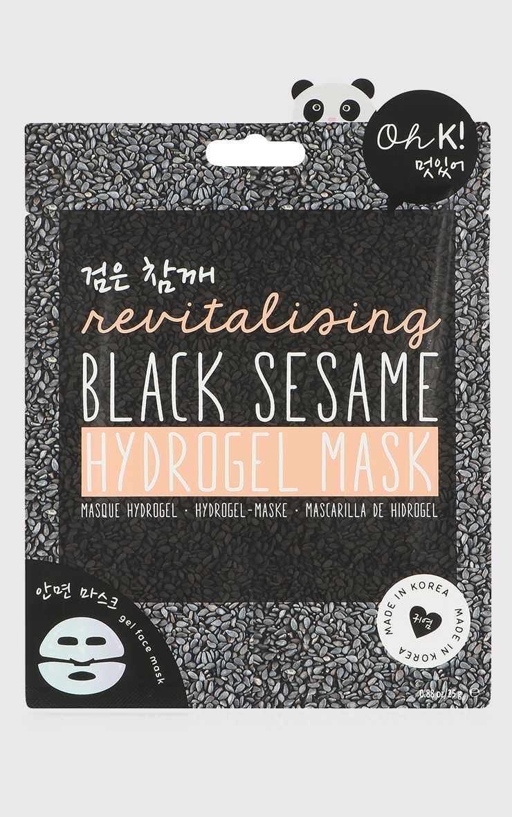 Oh K! Revitalising Black Sesame Face Mask