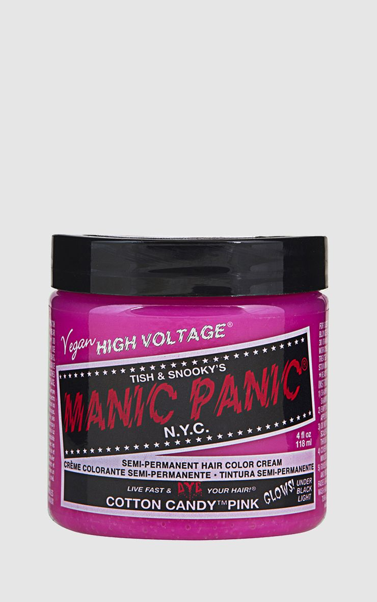 Manic Panic High Voltage UV Hair Colour - Cotton Candy